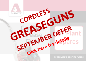 Grease Guns SEP Offer-GF Plant Spares